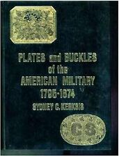 Plates and Buckles of the American Military 1795-1874.-4th  edition-NEW!!!