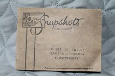 Classic Vintage Set 12 Camera Photo Studies Glastonbury England