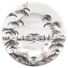 Juliska Country Estate flint DINNER PLATES  SET OF FOUR