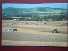 POSTCARD SUSSEX PLOUGHING MATCH AT MOUNT CABURN