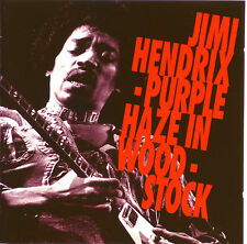 CD - Jimi Hendrix - Purple Haze In Woodstock - A 628