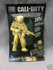 SDCC Comic Con 2014 EXCLUSIVE  Call of Duty Ghost Gold figure