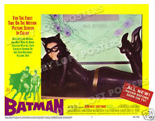 BATMAN LOBBY SCENE CARD # 2 POSTER 1966 LEE MERIWETHER CATWOMAN