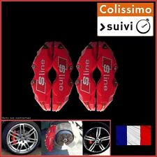 CACHE ETRIER FREIN 240MM, SLINE, S-LINE ROUGE UNIVERSEL TUNING AUDI A4 B5,B6,B7