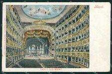 Napoli Città Teatro PIEGA cartolina XB5027