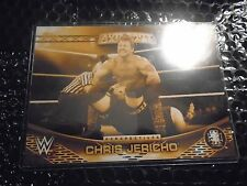 2016 Topps WWE Authority 5x7 Perspectives Gold  /10  Chris Jericho  #17A