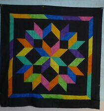 GREAT WINTER PROJECT OR GIFT SEWER QUILT TOP KIT 44X44 PRE-CUT FABRIC SALE