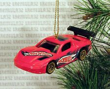 OLDS AURORA GTS-1 OLDSMOBILE RED BLACK RACE CAR RACING CHRISTMAS ORNAMENT XMAS