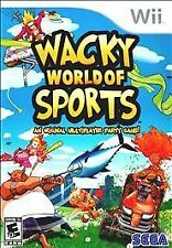 Wacky World of Sports (Nintendo Wii, 2009) NEW