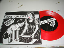 "Close Your Eyes - Prepackaged Hope 7"" EP new red vinyl Victory w/ download RSD"