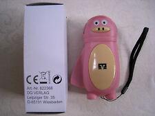 Taschenlampe Kinder Dynamo Friends LED Motiv Schwein NEU