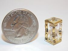 Dollhouse Miniature Halloween Hour Glass NON-Working Hourglass 1:12 one inch G67
