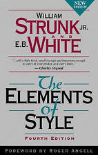 The Elements of Style by William I. Strunk (Paperback, 1999)