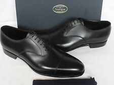 NEW Crockett Jones LONSDALE Handgrade Black Calf Leather Shoes UK 8 E RRP £500