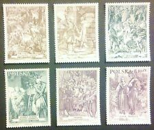 POLAND-STAMPS MNH Fi3690-95 Sc3528-33 Mi3838-43 - Poem Mr. Tadeus, 2000, clean