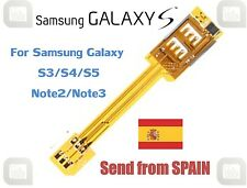 ★ Dual SIM Card Adapter for Samsung Galaxy S3 S4 S5 Note2 Note3 Note4 Mega ★