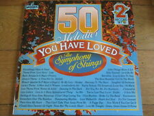 VARIOUS - 50 MELODIES YOU HAVE LOVED - THE SYMPHONY OF STRINGS - 2xLP - 50DA 307