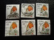 IRLANDE - timbre yvert et tellier n° 980 x6 obl (A31) stamp ireland