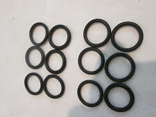 """Lot (12 pk) #210 SAE 1"""" OD x 3/4"""" ID Nitrile Rubber O Ring Fuel/Oil Seal Gaskets"""