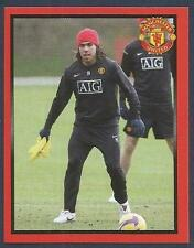 PANINI MANCHESTER UNITED 2008/09 #160-ARGENTINA-CARLOS TEVEZ IN TRAINING