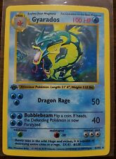 Pokémon 1st edition shadowless Gyarados Holo Rare 6/102