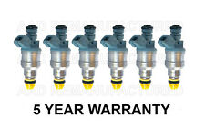 * 5 YEAR WARRANTY * Genuine Set OF 6 Fuel Injectors for Bosch BMW 2.5L 5.0L