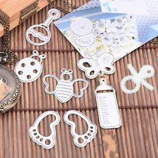 Baby Sets Metal Cutting Dies Stencil Scrapbook Paper Card Album Embossing Gifts