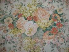 213cm Sanderson alta verano Shabby Chic Vintage Lino Unión Tela de tapicería
