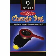 50 TRICKS WITH A CHANGE BAG BOOK MAGIC APPEAR & DISAPPEAR TRICKS ROUTINES