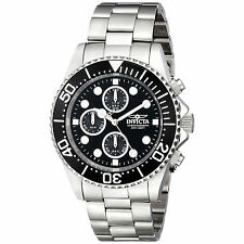 Invicta 1768 Men's Pro Diver Steel Coin Edge Bezel Chrono Watch