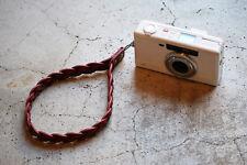 """ROBERU Braided Camera Hand Strap """"Red"""" Hand made TAKUMI Japan New"""