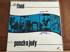THE FLUID / PUNCH N JUDY / LP / AUTOGRAPHED