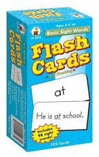 Basic Sight Words Flash Cards Ages 6 and Up  New