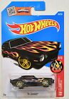 HOT WHEELS 2016 HW FLAMES '70 CAMARO BLACK