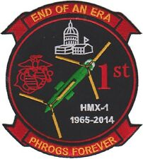 USMC HMX-1 Marine Helicopter Squadron End of an Era Patch