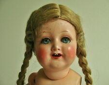 ANTIQUE VINTAGE KAMMER REINHARDT 728/1 CELLULOID DOLL, 11""