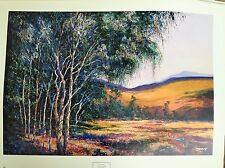 Michael Schofield Signed Litho Landscape Traditional