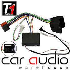 Vauxhall Corsa D 2009-14 On CLARION Car Stereo Steering Wheel Interface Adapter
