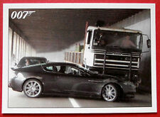 JAMES BOND - Quantum of Solace - Card #002 - Deadly High Speed Chase