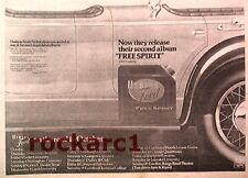 HUDSON-FORD  Free Spirit 1974 UK Press ADVERT 12x8""