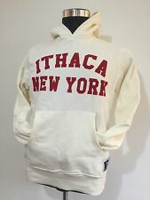 NEW Russell Athletic Ithaca New York Cream Hoodie Size Small BNWT