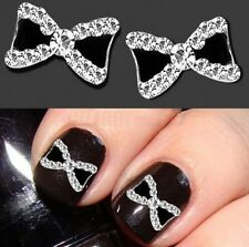 Fashion Women Bow Tie Beautiful 3D Nail Art bow-knot Decorations Manicure Tips