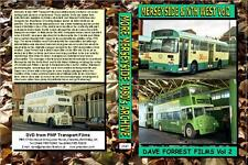 2547. Merseyside. UK. Buses.1980s. The second volume of Dave Forrest's film in N