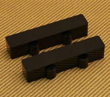 PC-JAZZ-NHB (2) Black No-Hole Pickup Covers for Jazz Bass