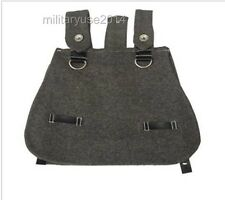 WW2 WWII Military German Army Bread Bag Wool Woolen Grey