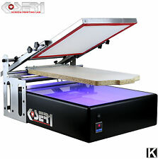 Screen Printing Machine + Exposure UV - All in one - Printer Kit Silk screening