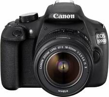 Canon EOS 1200D (Kit with 8 GB Card & Bag EF S18-55 IS II+55-250mm IS II) DSLR