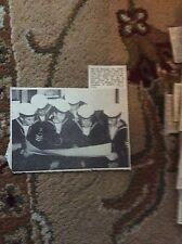 B1-6 ephemera 1961 picture ramsgate sea cadets w edwards e g morgan p blake