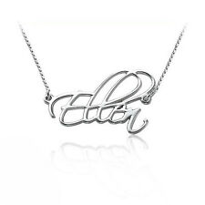 Script Necklace in Sterling Silver - Personalized
