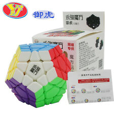 New YJ Yuhu Megmainx Stickerless Magic cube YongJun Moyu Megaminx stickerless